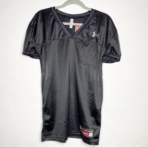NWT Under Armour Practice Football Jersey Black L